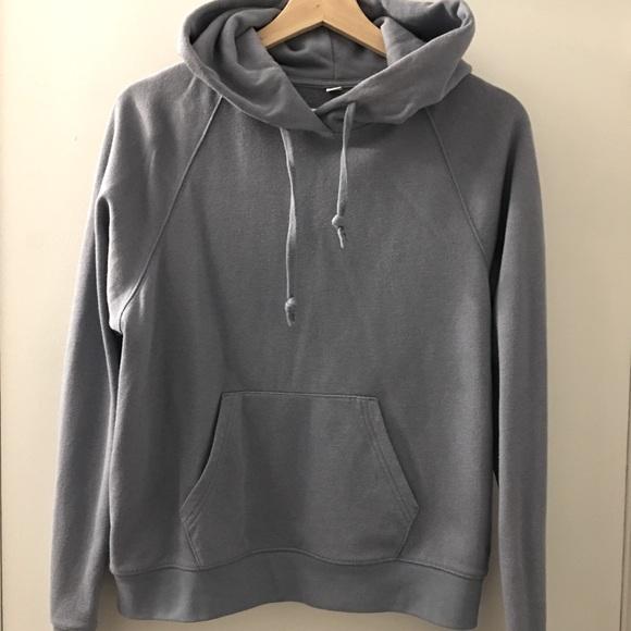 Uniqlo dusk blue hoodie